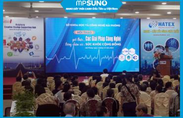 MPSUNO tham dự Hội thảo Giới thiệu các giải pháp công nghệ trong chăm sóc sức khỏe cộng đồng